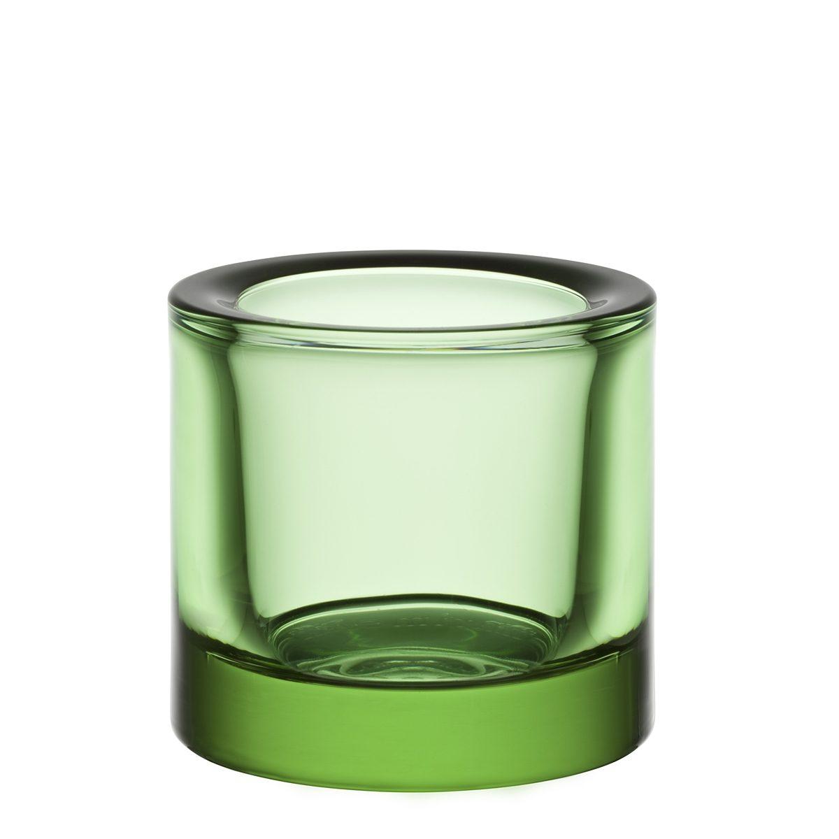 IITTALA Iittala Teelichthalter KIVI apfelgrün 6cm