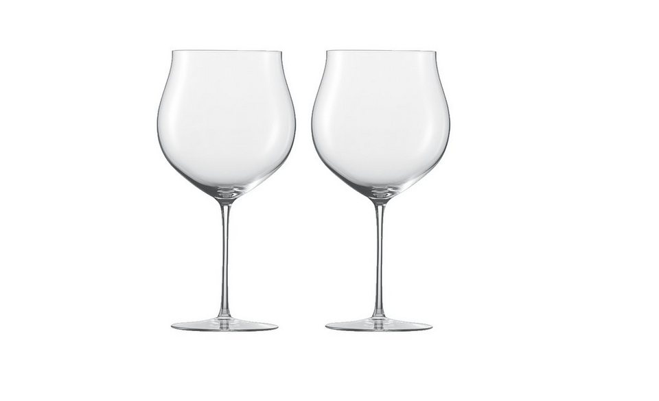 Zwiesel 1872 Set: Bourgogne Grand Cru Glas 2er-Set »Enoteca« in Transparent
