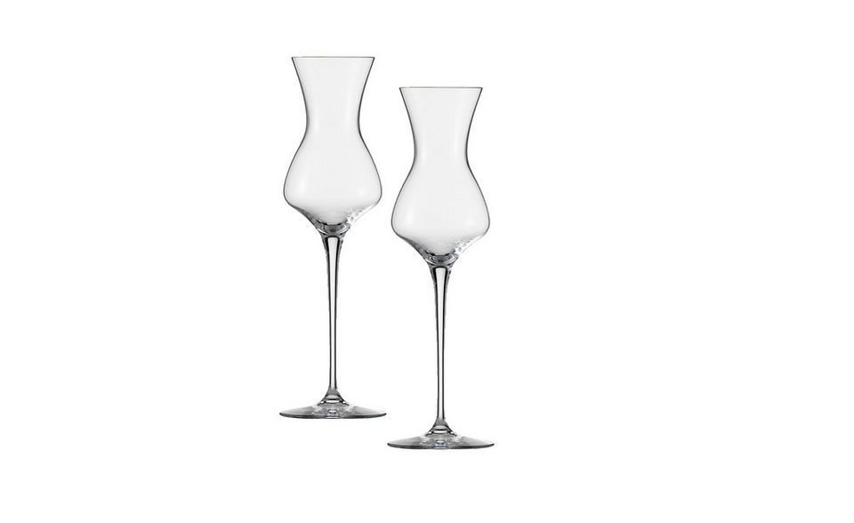 Zwiesel 1872 Grappa Glas 2er-Set »The First« 2-teilig in Transparent