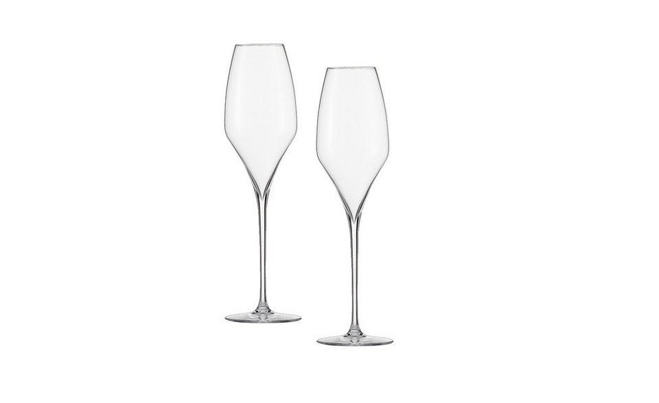 Zwiesel 1872 Sektglas 2er-Set »The First« 2-teilig in Transparent