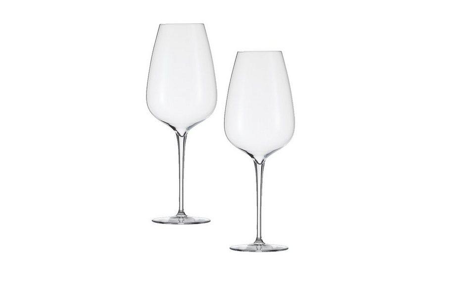 Zwiesel 1872 Set: Bordeaux Grand Cru Glas 2er-Set »Grace« in Transparent