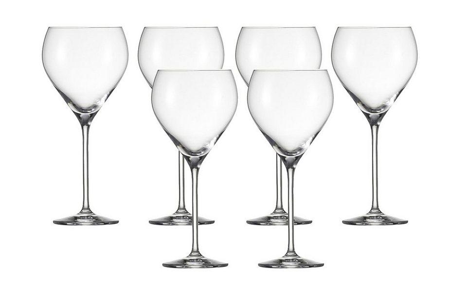 Schott Zwiesel Set: Burgunderpokal Glas 6er-Set »Vinao« in Transparent