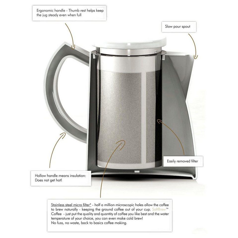 Sowden Sowden SoftBrew Kaffeekanne OSKAR 1.3L in weiß