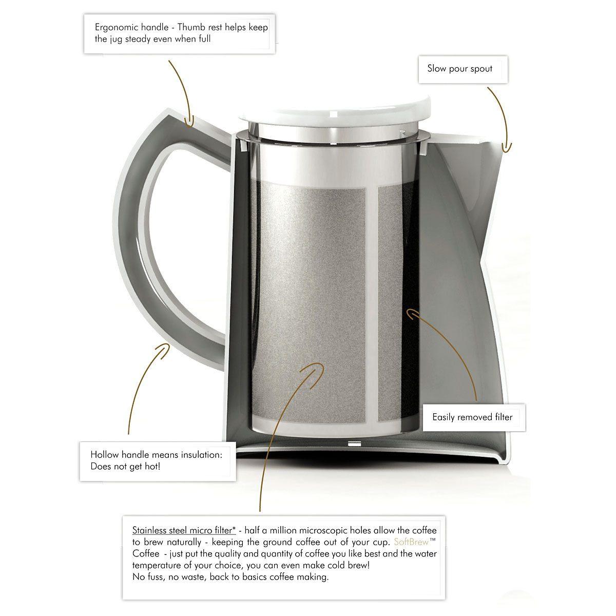 Sowden Sowden SoftBrew Kaffeekanne OSKAR 1.3L