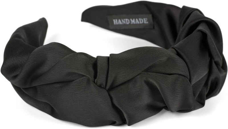 styleBREAKER Haarband »Haarreif geflochten in Rüschen Optik«, 1-tlg., Haarreif geflochten in Rüschen Optik