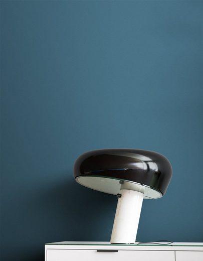Newroom Vliestapete, Blau Tapete Modern Unifarbe - Universal Einfarbig Uni Strukur für Wohnzimmer Schlafzimmer Küche