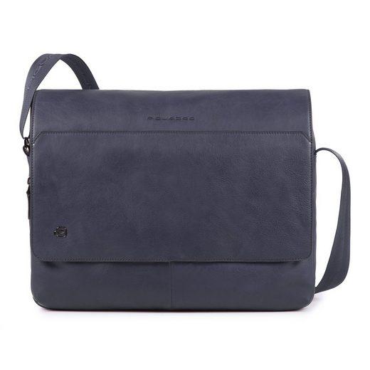 Piquadro Messenger Bag »Black Square«, Leder