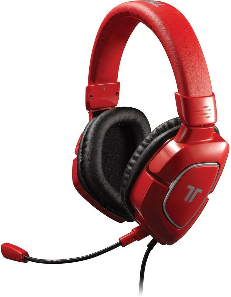 Mad Catz Headset Tritton AX 180 Rot »(PS3 X360 PC Tablet/Smartphone Wii)«