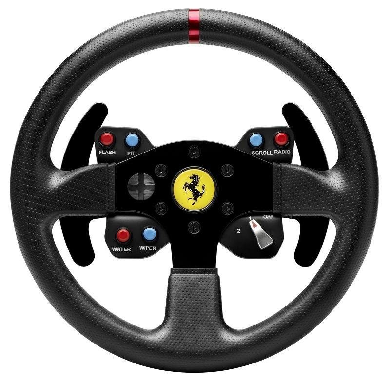 Thrustmaster Ferrari GTE Wheel Add-On für Lenkrad T500 »PS3 PC«