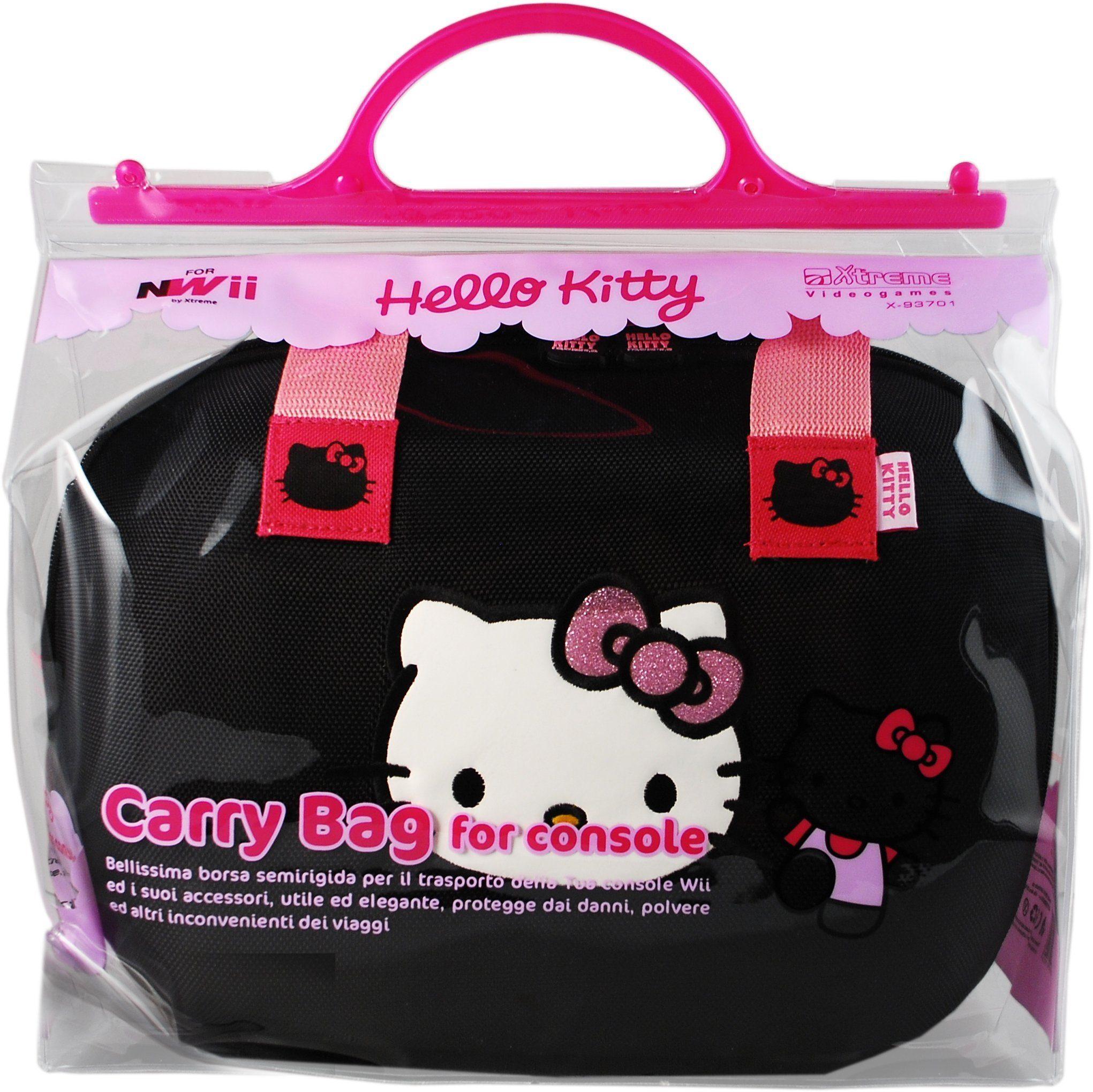 Extreme Tasche Hello Kitty Schwarz »Wii«