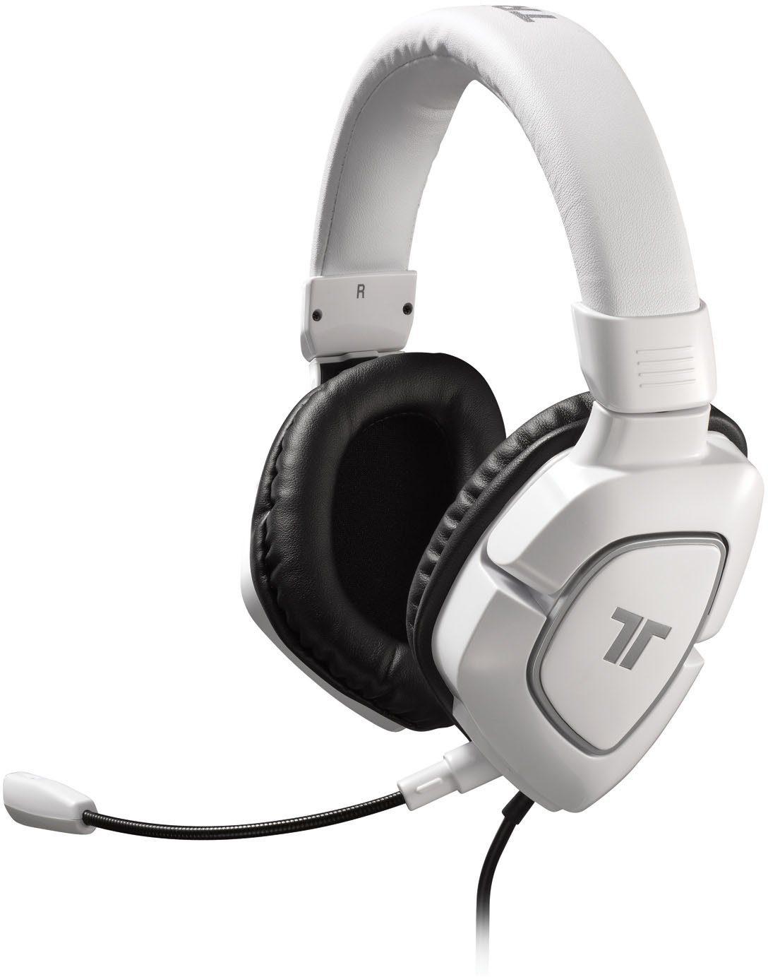 Mad Catz Headset Tritton AX 180 Weiss »(PS3 PC Wii X360)«
