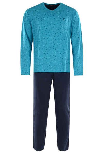 Hajo Pyjama »Hajo Herren Schlafanzug« Baumwolle
