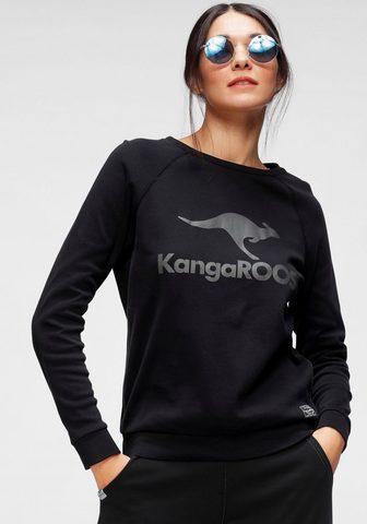 KangaROOS Megztinis su großem Label-Print prieky...