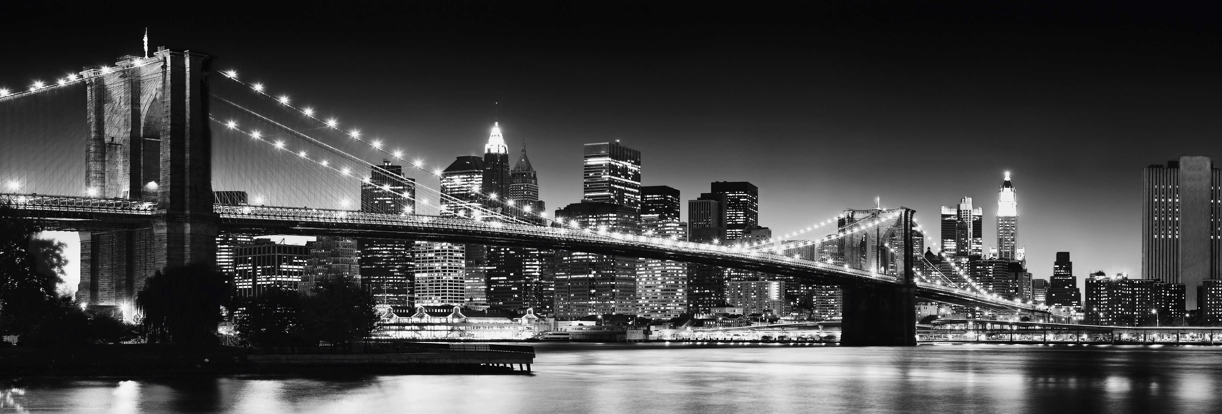 Bild, Home affaire, »New York - brooklyn bridge«, 118/40 cm