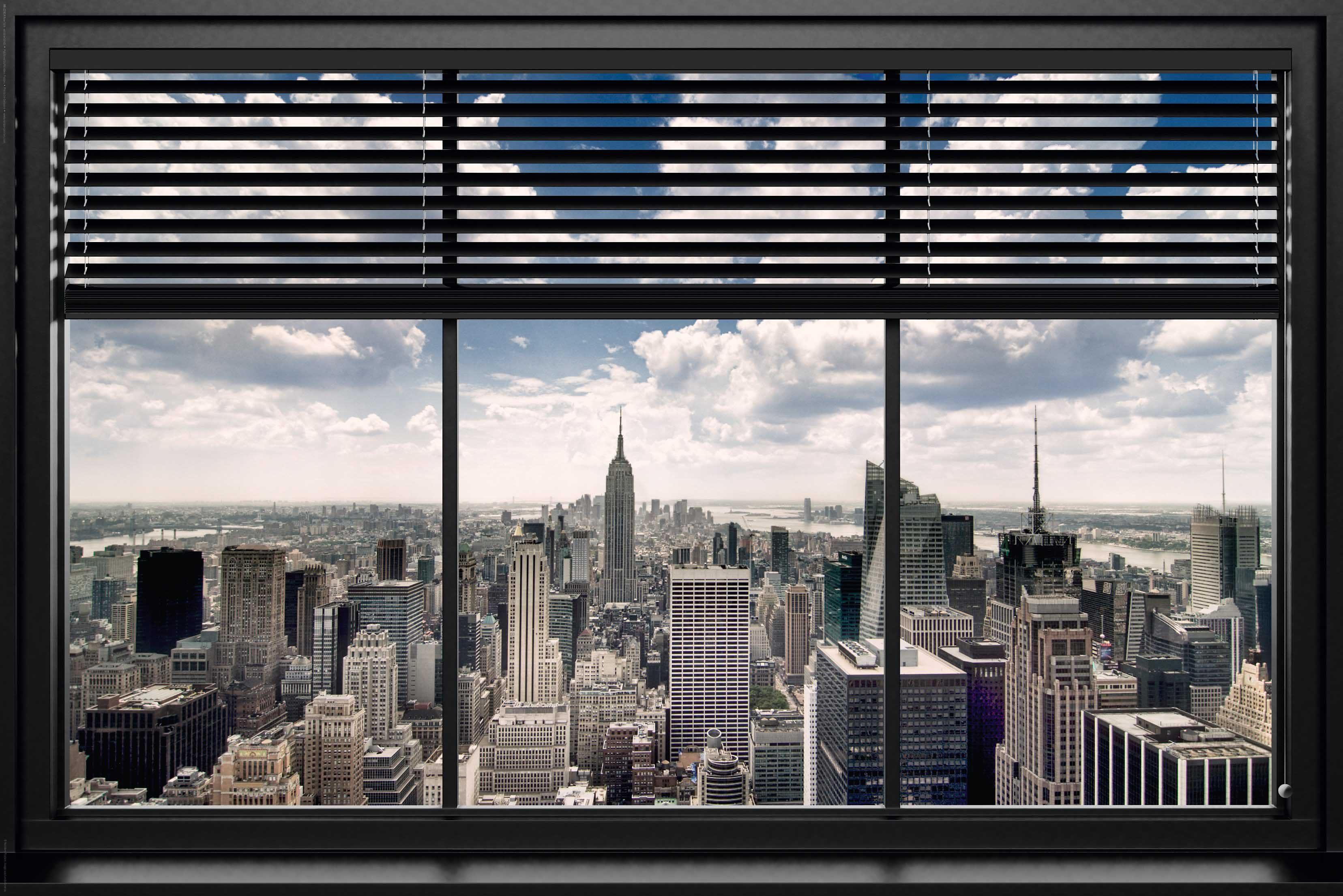 Bild, Home affaire, »New York - window blinds«, 90/60 cm