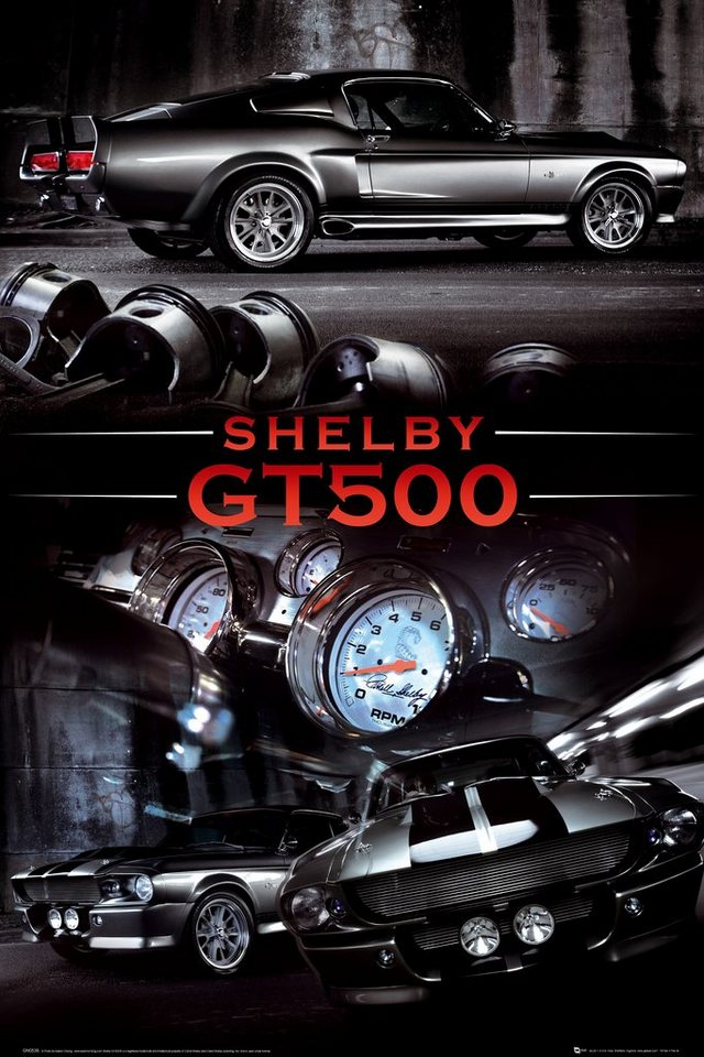 Bild, Home affaire, »Ford Shelby gt50«, 60/90 cm in schwarz