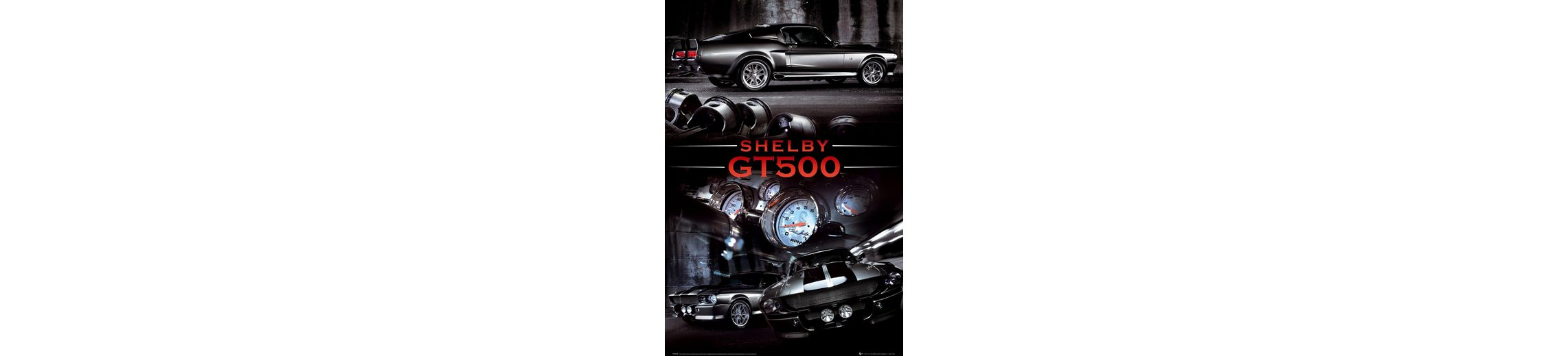 Bild, Home affaire, »Ford Shelby gt50«, 60/90 cm