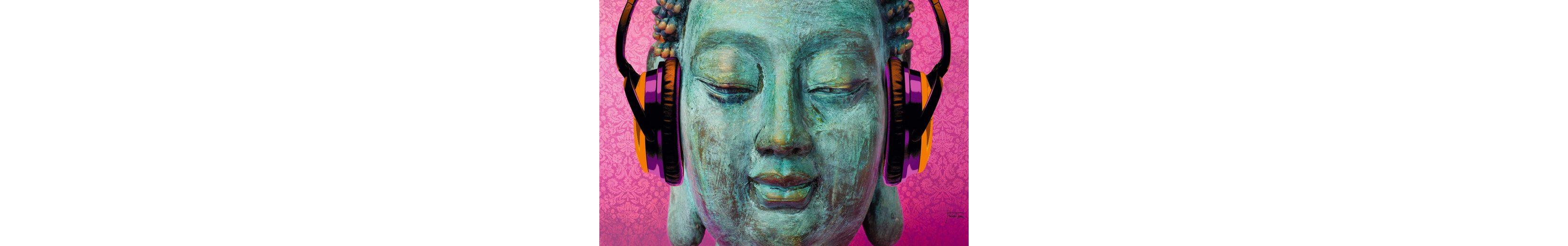 Bild, Home affaire, »Michael Tarin - buddha music chill«, 90/60 cm