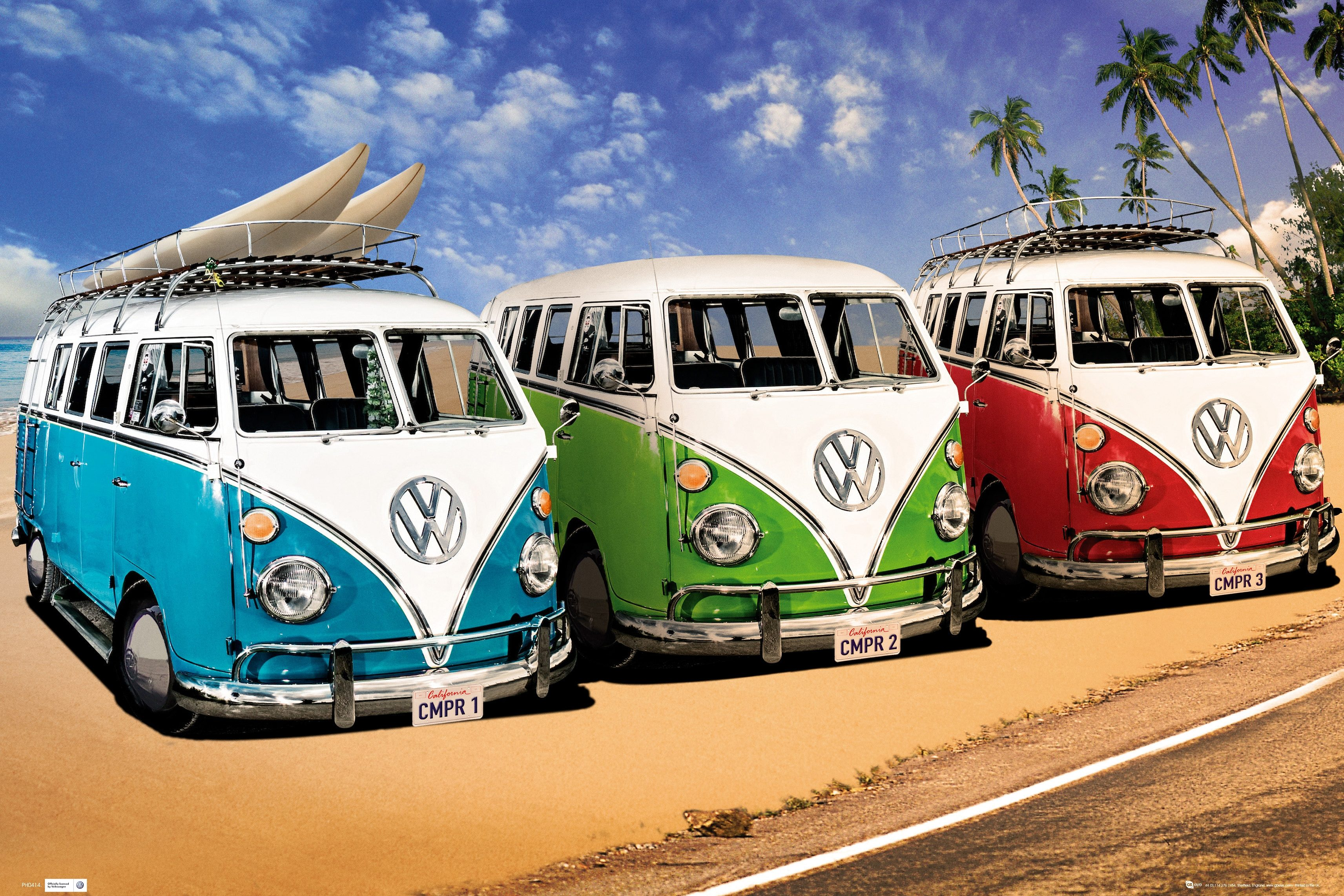 Bild, Home affaire, »VW Californian Camper - campers«, 90/60 cm