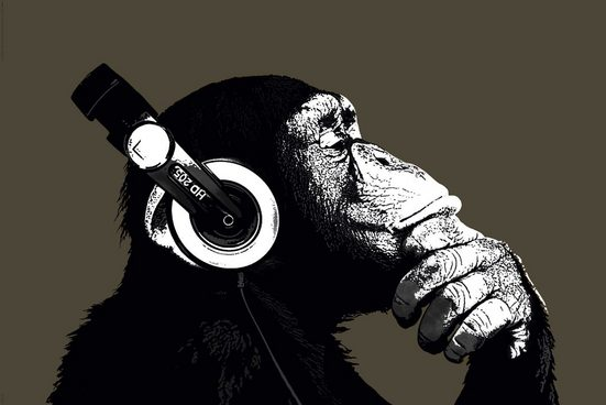 Home affaire Bild »The Chimp«