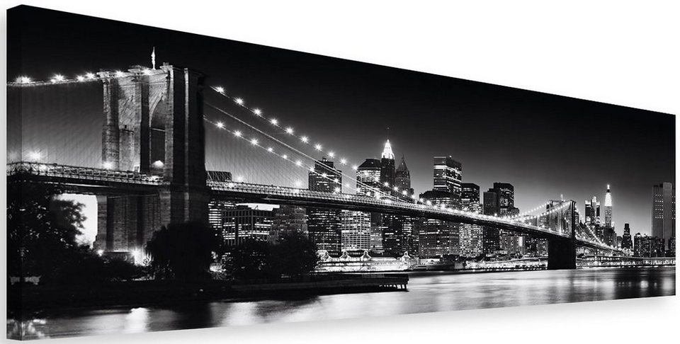 bild home affaire new york brooklyn bridge 118 40 cm online kaufen otto. Black Bedroom Furniture Sets. Home Design Ideas