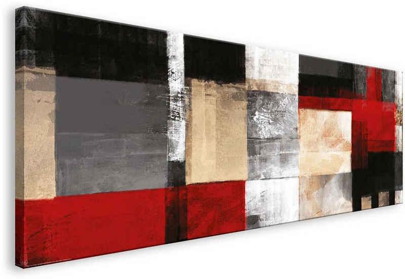 Home affaire Leinwandbild »Square«, 150/57 cm