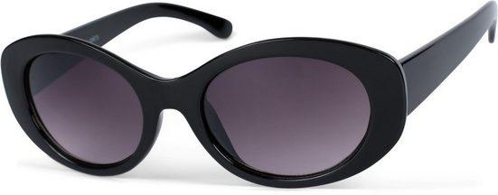 styleBREAKER Sonnenbrille »Butterfly Sonnenbrille mit breitem Rahmen« Getönt