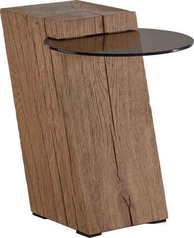 LEONARDO Beistelltisch »LIV«, Ablagefläche aus Parsolglas, Höhe 56 cm