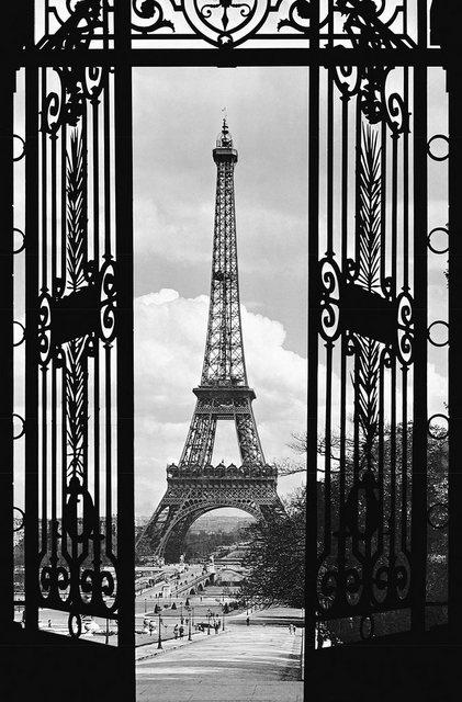 Home affaire XXL Poster, La Tour Eiffel - 1909, 115/175 cm