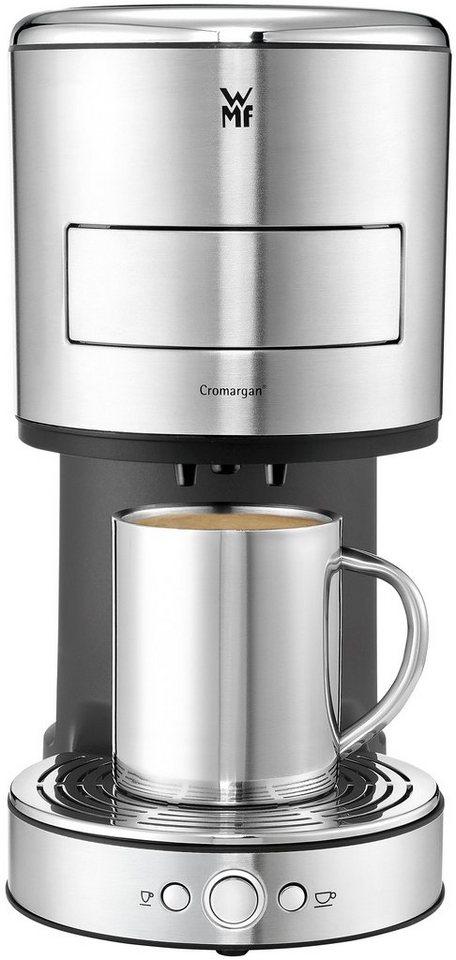 WMF Kaffeepadmaschine LONO mit patentiertem WMF Perfect Crema System, 0,8 Liter, 1600 Watt in Cromargan matt