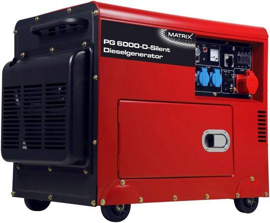 MATRIX Stromerzeuger »PG 6000 D«, 7,36 in kW