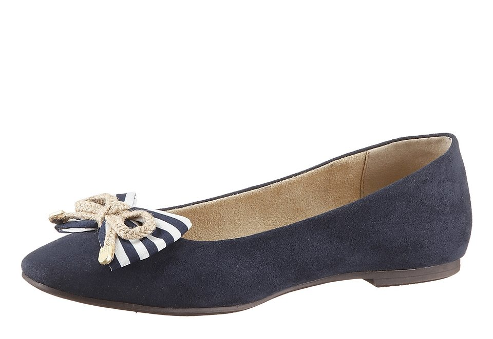 Ballerina, Tamaris in navy