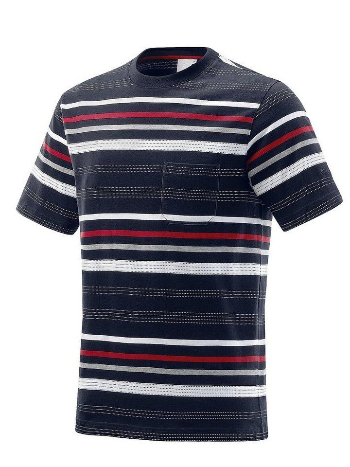 JOY sportswear T-Shirt »VITO« in black stripes