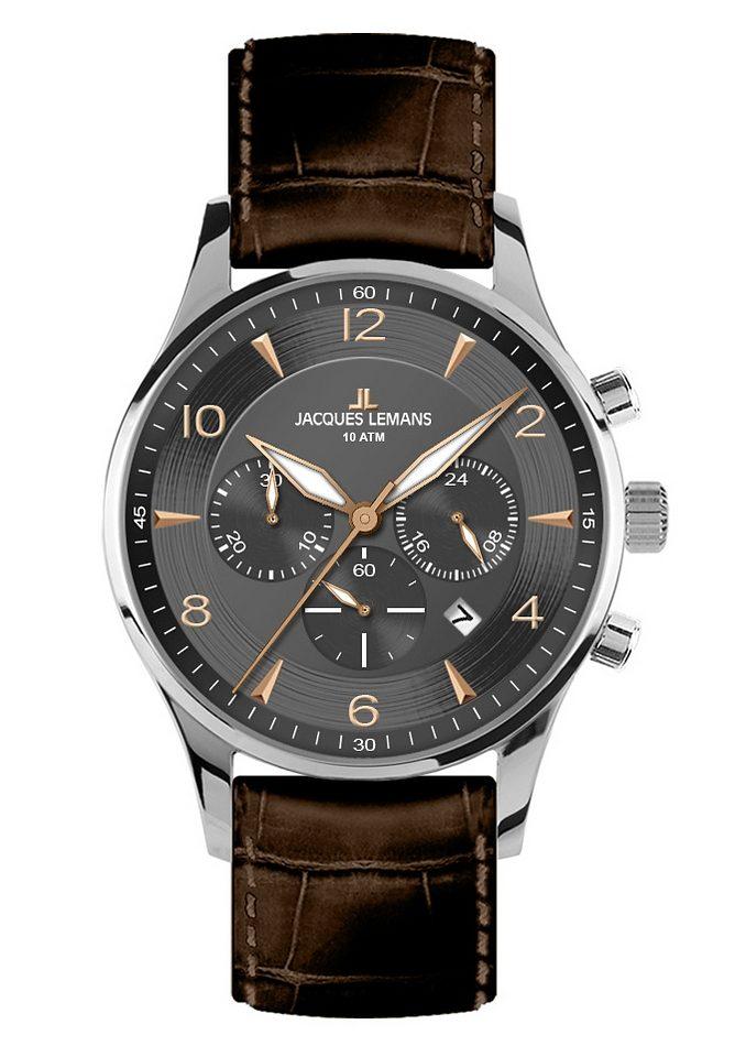 Jacques Lemans Classic Chronograph »London, 1-1654F«