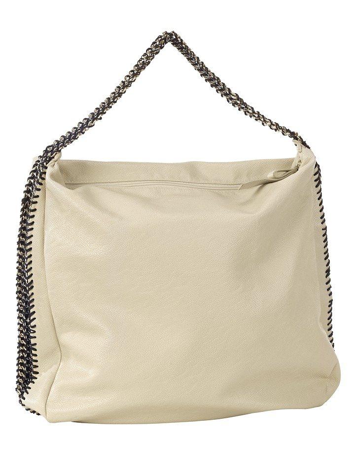 Tasche in beige