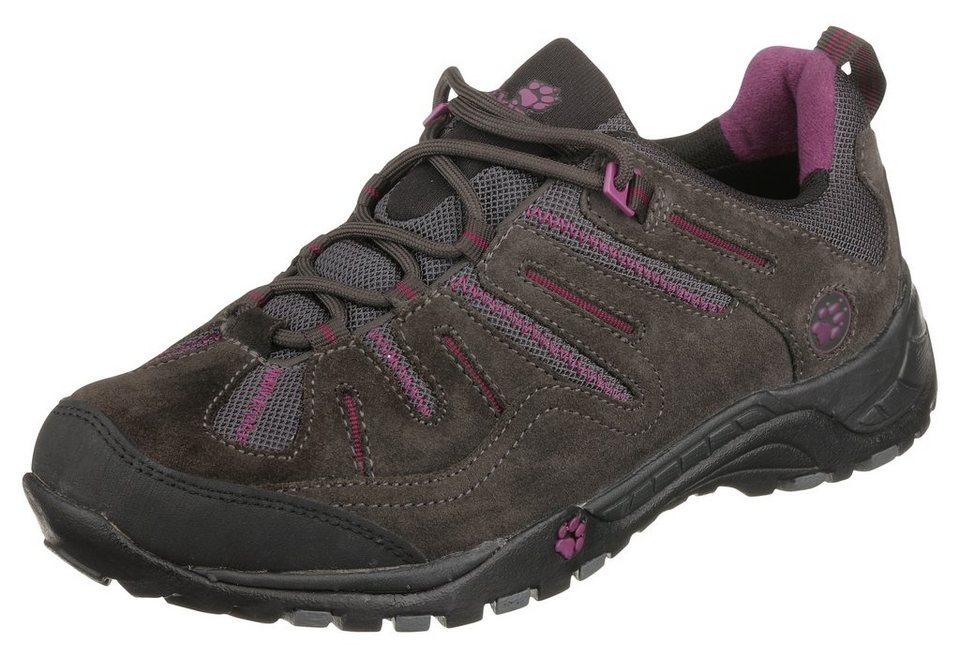 Jack Wolfskin »Switchback« Outdoorschuh in braun-lila