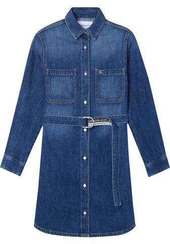 Calvin Klein Jeans Calvin KLEIN Džinsai džinsinė suknelė ...