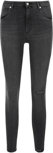 Q/S designed by Skinny-fit-Jeans »Sadie« High Waist und mit trendigen Destroyed Effekten