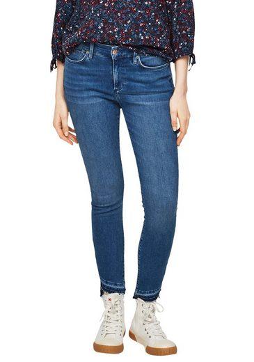 s.Oliver 7/8-Jeans im Skinny Schnitt mit toller Waschung