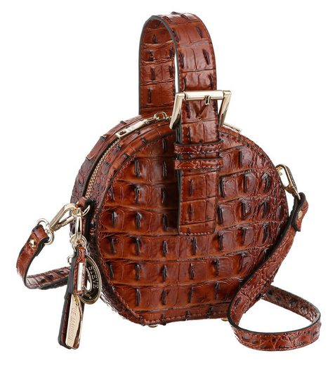 STEVE MADDEN Mini Bag, mit modischer Prägung in Reptil Optik, runde Form