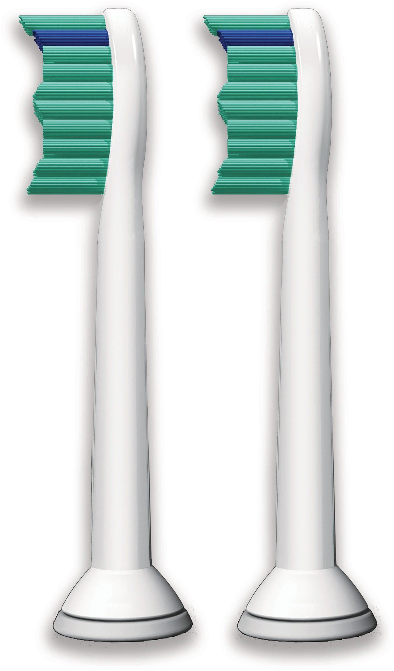 Philips Sonicare Ersatzbürsten HX6012/07 ProResults Standard, 2er Pack.