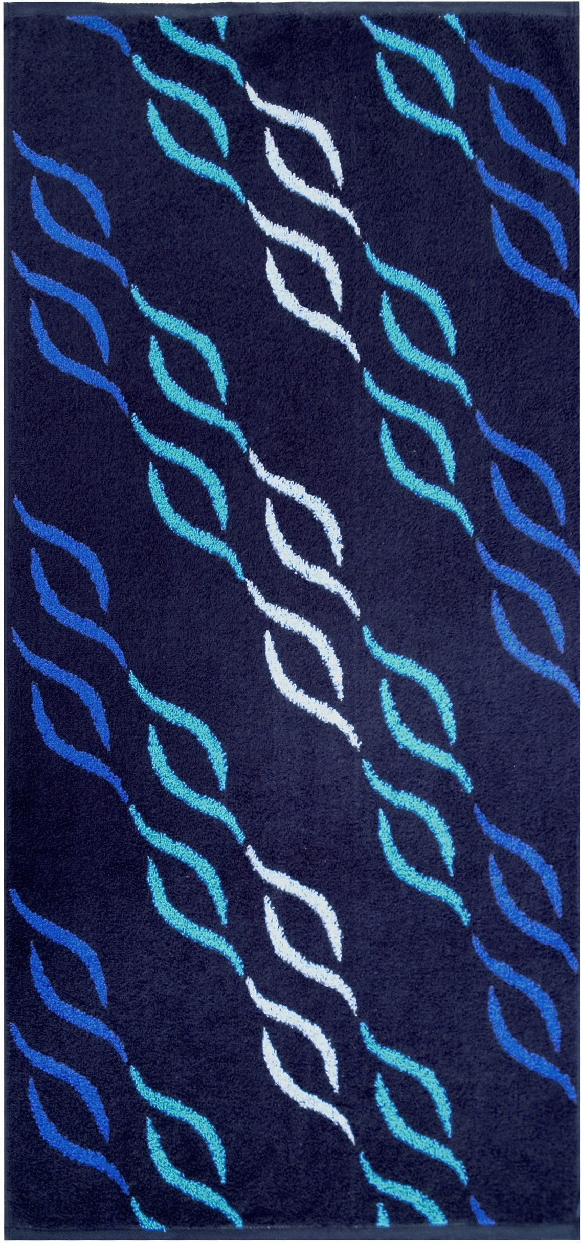 Badetuch, Dyckhoff, »Wave Jacquard«, mit Wellenmuster