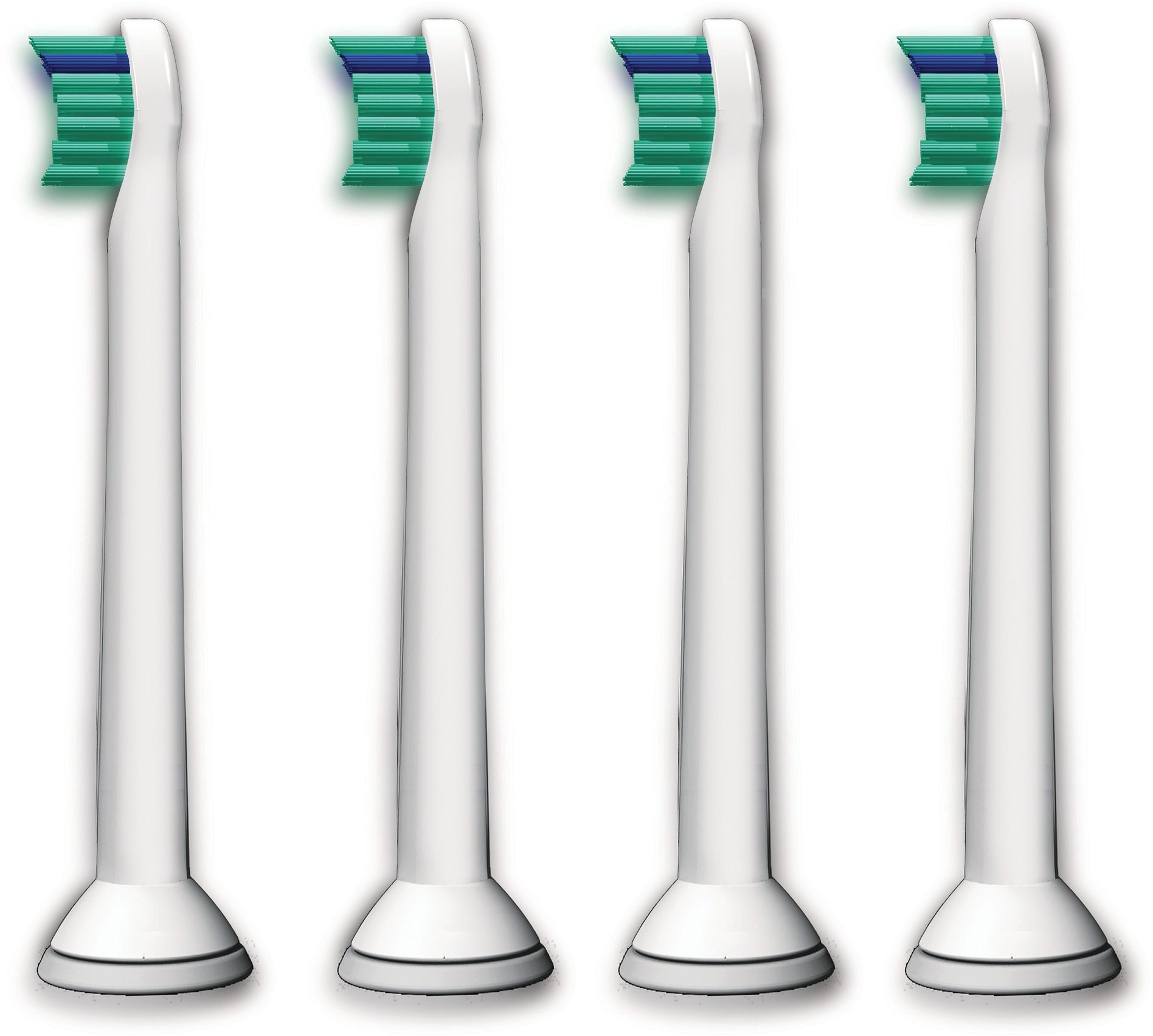 Philips Sonicare Ersatzbürsten HX6024/07 ProResults Mini, 4er Pack