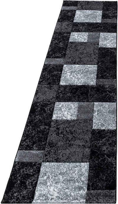 Läufer »Hawaii 1330«, Ayyildiz, rechteckig, Höhe 13 mm, handgearbeiteter Konturenschnitt, 80cm x 300cm (BxL)