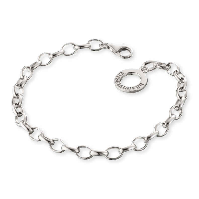 Engelsrufer Armband »Armband 925er-Sterlingsilber rhodiniert L 19,5cm«