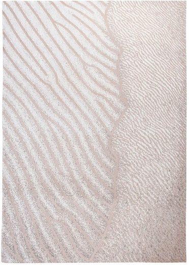 Teppich »SHORES«, louis de poortere, rechteckig, Höhe 3 mm, Flachgewebe, modernes Design, 85% Baumwolle, Wohnzimmer
