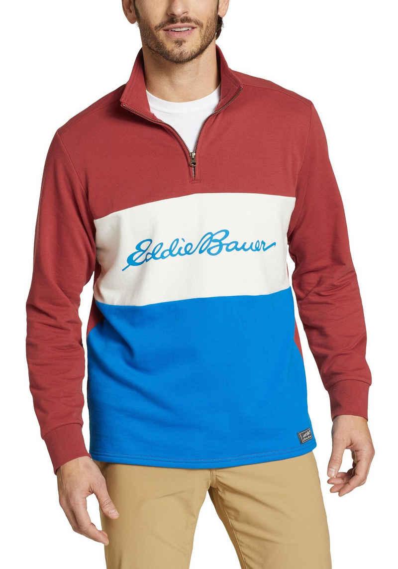 Eddie Bauer Sweatshirt Camp Fleece - 1/4 Reißverschluss