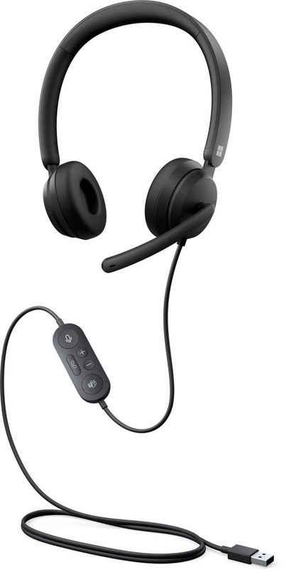 Microsoft »Modern USB Headset« On-Ear-Kopfhörer