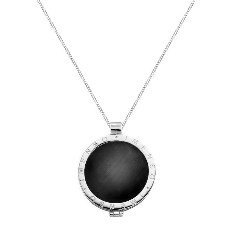 MY iMenso Silberkette mit schönem Medaillon »Cats Eye«