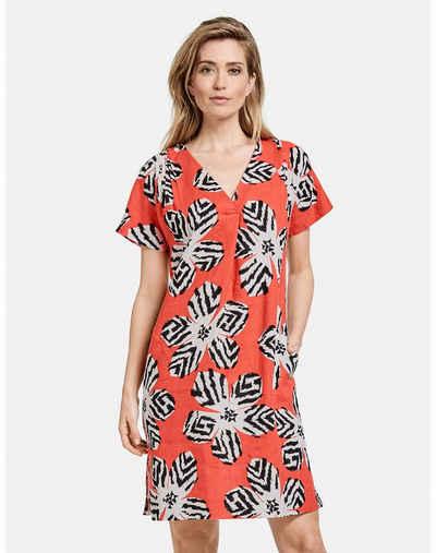 GERRY WEBER Midikleid »Kleid aus Leinen«